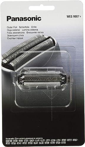 Panasonic Replacement Outer Foil for Shavers ES-RT37-S541, ES-SL33-S541, ES-SL41 & ES8101 (WES9087), Silver