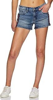 Levi's Women's Regular Fit Cotton Shorts