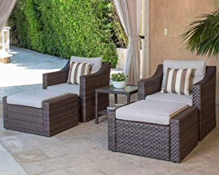 Best outdoor furniture chair with ottoman Reviews