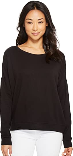 American Rose - Savannah Dolman Sleeve Fleece Sweatshirt