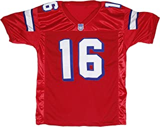Best Shane Falco 16 Washington Sentinels Home Football Jersey Replacements Includes League Stitch Review