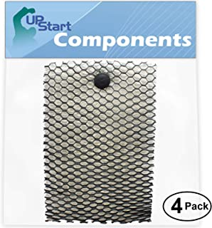 4-Pack Replacement HWF100 Humidifier Filter for Holmes, Bionaire, Sunbeam - Compatible with Holmes HM630, Bionaire BCM646, Holmes HWF100, Sunbeam SCM630, BCM740B, SCM7808, BWF100, SCM2412, SCM2410