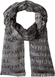 A|X Armani Exchange Men's Allover Print Scarf