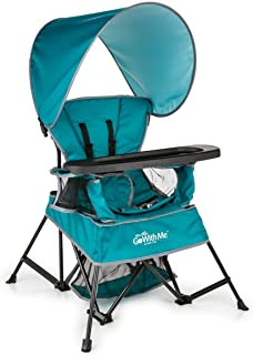 Baby Delight Go with Me Chair | Indoor/Outdoor Chair with Sun Canopy | Teal | Portable..