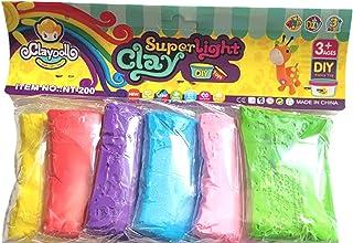 Super Light Clay 6 Bright Color Air Dry DIY