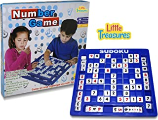 Little Treasures Sudoku Board Game, The Ultimate inelegant Number Game a Variety of 120 Game Modes, with a Variety of Difficulties
