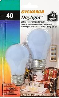 SYLVANIA Home Lighting 10181 Incandesent Bulb, A15-40W-2850K, Medium Base, Pack of 2