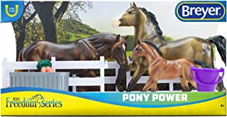 Best Breyer Freedom Series (Classics) Pony Power 3 Horse Playset | Model Horse Toy | 1:12 Scale (Classics) | Model #62200, Multi Review