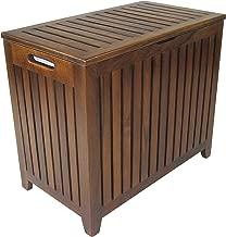 Redmon Teak Collection Vanity Hamper