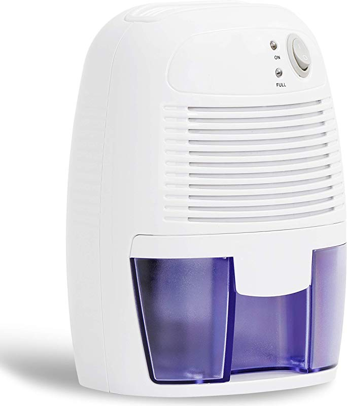 SUPER DEAL Dehumidifier For Small To Medium Rooms Effortless Humidity Control 1500 Cubic Feet Auto Shut Off Reduce Odor Quiet Compact And Portable 500ml 16 Oz Ideal For Basement Bedroom
