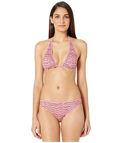 Missoni Mare Embossed Lace Two-Piece Swimsuit (Pink) Women