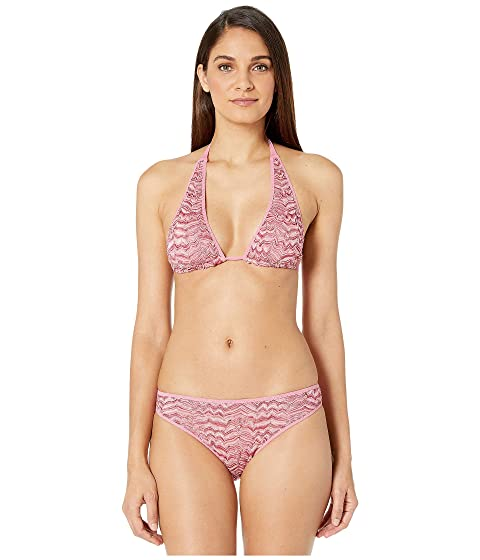 Missoni Mare Embossed Lace Two-Piece Swimsuit