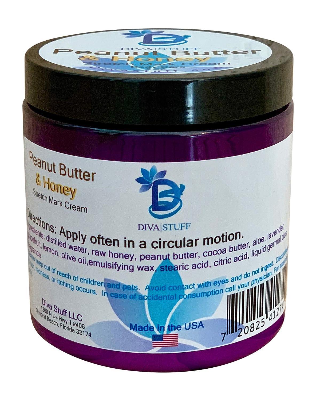 Diva Stuff Peanut Butter & Honey Stretch Mark Cream With Aloe And Cocoa Butter