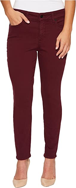 Petite Alina Legging Jeans in Deep Currant