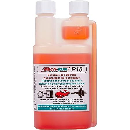 MECA-RUN P18500 Additif pour Huile Moteur-P18 500 ML Flacon DB