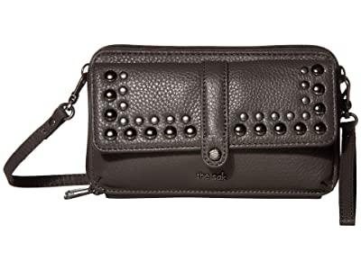 The Sak Sequoia Extra Large Smartphone Crossbody (Slate Stud) Cross Body Handbags