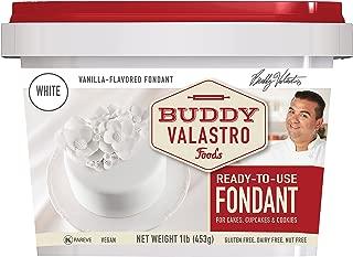 Buddy Valastro Foods - White Fondant (Vanilla, 1 Pound)