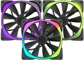 NZXT RF-AR120-T1 AER RGB120 Triple Pack 120mm RGB Case Fan 500-1 500 RPM 20-61.4CFM 22-31DBA 4-PIN PWM