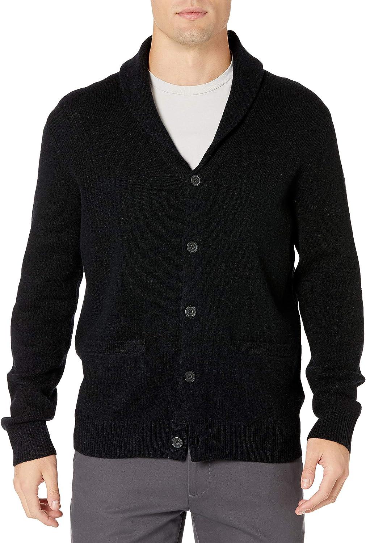 Amazon Max 73% OFF Louisville-Jefferson County Mall Brand - Goodthreads Men's Lambswool 100% Shaw Long-Sleeve