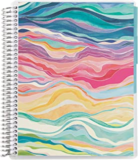 """$24 » 7"""" X 9"""" Spiral Bound College Ruled Notebook - Layers. 3 Subject Tabbed. 160 Page Note Taking & Writing Notebook. 80Lb Thic..."""