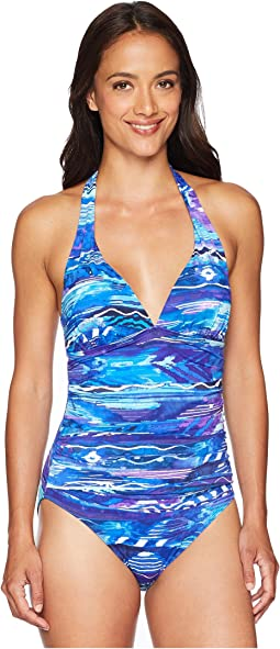 Calypso Halter One-Piece