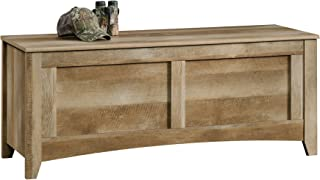 Sauder East Canyon Gun Storage Bench, Craftsman Oak finish
