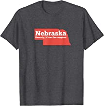 Nebraska Honestly Its Not For Everyone - Funny Nebraska T-Shirt