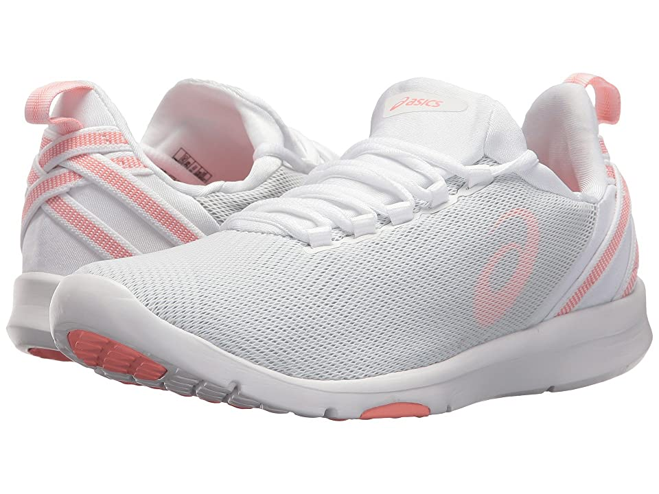 ASICS Gel-Fit Sana 3 (White/Begonia Pink/Glacier Grey) Women
