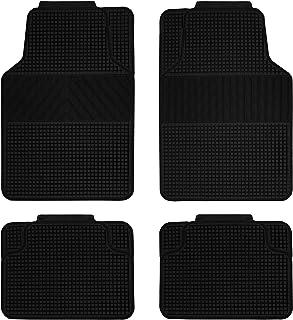 comprar comparacion Vip - Alfombra de Goma Universal REVERSIBLE , color negro, 4 piezas. Fabricada en PVC.