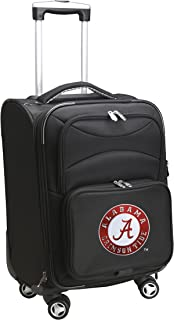 Denco NCAA Domestic Carry-On Spinner, 20-Inch, Black