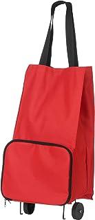 Premier Housewares Oxford Trolley Bag - Red