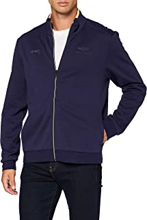 Hackett London Men's Amr Full Zip Sweater