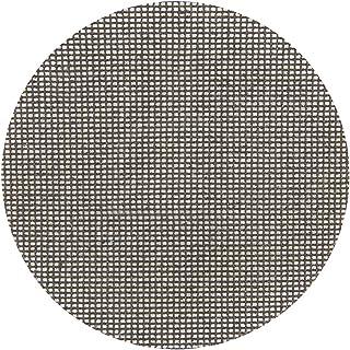 Silverline 855132 Discos de Lija Autoadherentes con Malla Abrasiva, 225 mm Diámetro, Grano 40, Caja de 10