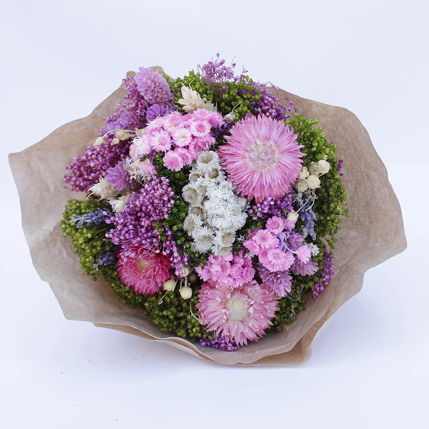 Bundle of Joy Bouquet Don't miss the campaign Air-dried Preserved Flower Department store Wild P Bunch