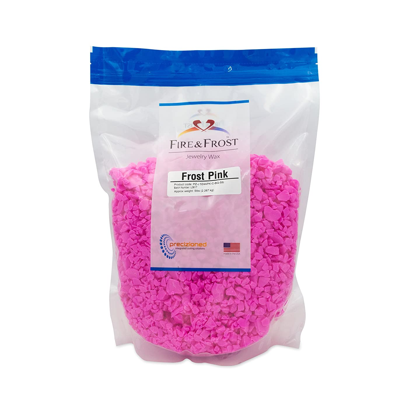 Frost Pink, Jewelry Injection Wax. 5lb