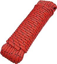 Touw 8 mm 20 m - polypropyleen touw PP, vastmakerslijn, multifunctioneel touw, breien, tuintouw, outdoor - breukbelasting:...