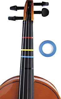 Jumbo BLUE Color Violin Fingering Tape for Fretboard Note Positions