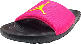 Break Slide Sandal (9 D(M) US, Hyper Pink/Cyber-Black)