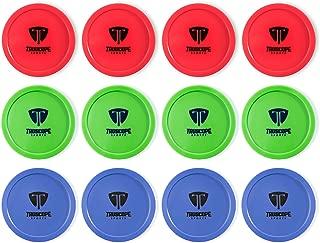 Truscope Sports 12 Pack 3 1/4 Inch Air Hockey Pucks
