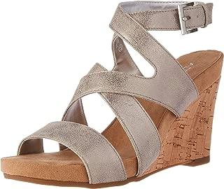 Women's Silverplush Wedge Sandal