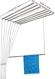 Rainbow Drywell Luxury 8 Pipes 8 Feet Stainless Steel Cloth Dryer/Clothes Hanger