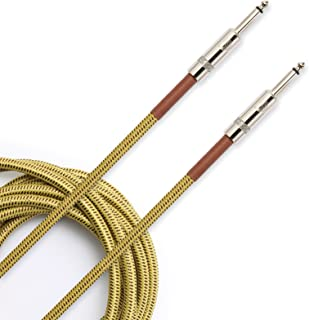 D'Addario Accessories Instrument Cable, Tweed, 20 feet (PW-BG-20TW)