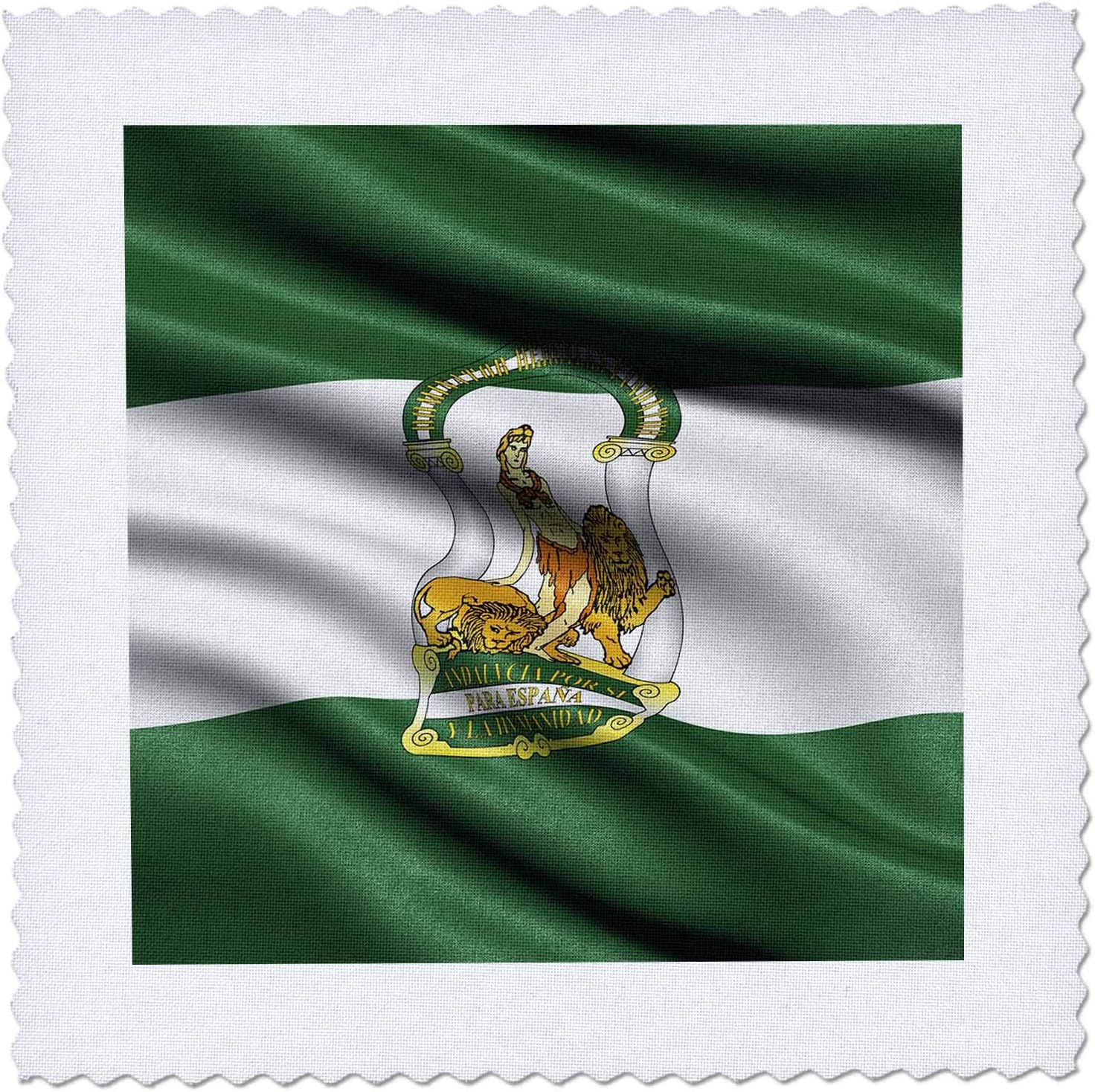 3dRose CR Media Max 56% OFF - Illustrations Flag Cheap super special price in of th Andalucia waving
