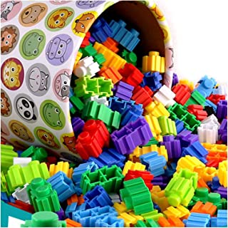 YOUPIN 500/1000Pcs Micro Diamond Building Blocks 8 * 8mm DIY Creative Small Bricks Model Figures Educational Toys For Chil...