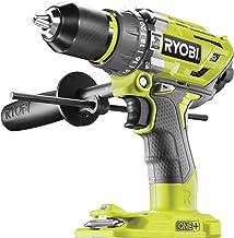 Ryobi 5133003941 R18PD7-0 - Taladro percutor (18 V, sin batería, portabrocas de sujeción rápida, iluminación LED)