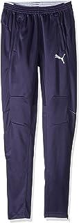 PUMA Men's Training Pant, Black/White, Medium