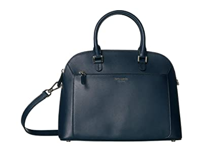 Kate Spade New York Louise Medium Dome Satchel (Nightcap) Bags