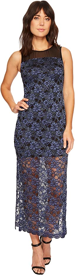 Mary Sleeveless Lace Maxi Dress