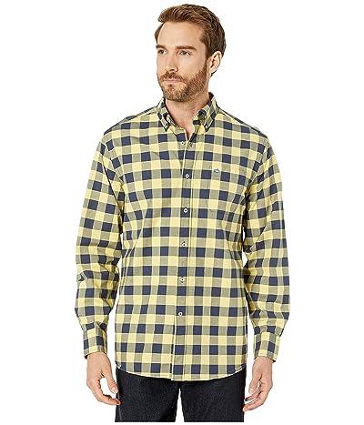 Southern Tide Spray Avenue Buffalo Check Sports Shirt (Sunshine) Men