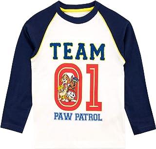 Paw Patrol Camiseta de Manga Larga para niños La Patrulla